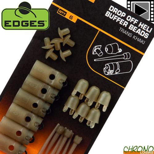 25 Per Pack-All Sizes Fox Edges Hook Bead Beads Trans kaki