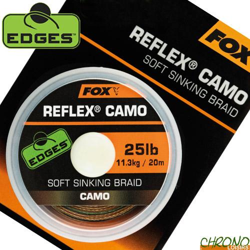 Carp Fishing Fox Edges Reflex Camo Soft Sinking Braid