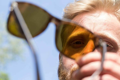 Korda Sunglasses Wraps Gloss Olive polarisation Lunettes Jaune Verres polarisantes