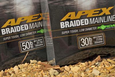 Korda Apex Braided Mainline 450M /& 1200M all sizes
